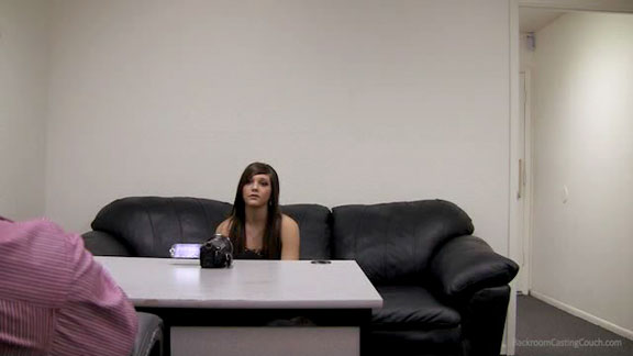 Kaylie Backroom Casting Couch