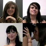 Tria, Boxxy, Bettie, Cheyenne